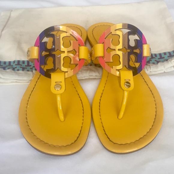6defc32a7c19 Tory Burch Rainbow Miller Sandals. M 5b0dbca03b1608400d2557a3